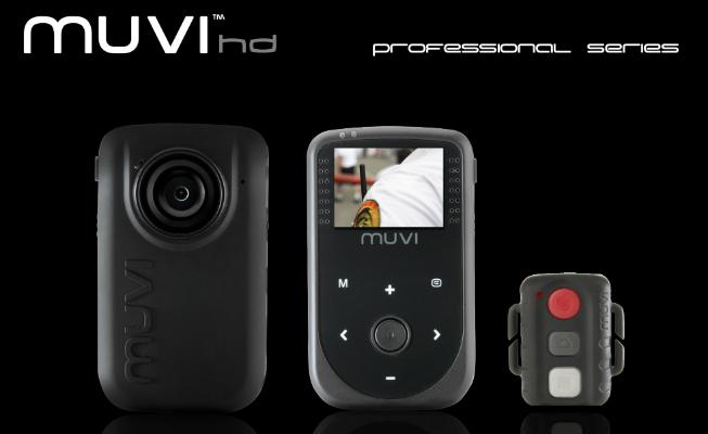 Muvi Professional Handsfree Camcorder