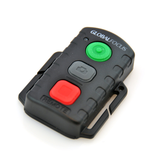 Ergonomic wireless remote control for your F1 Pro.