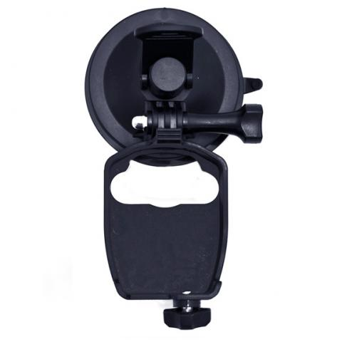Vehicle suction mount for F1 Pro. Ideal for recoding in/outside the vehicle.